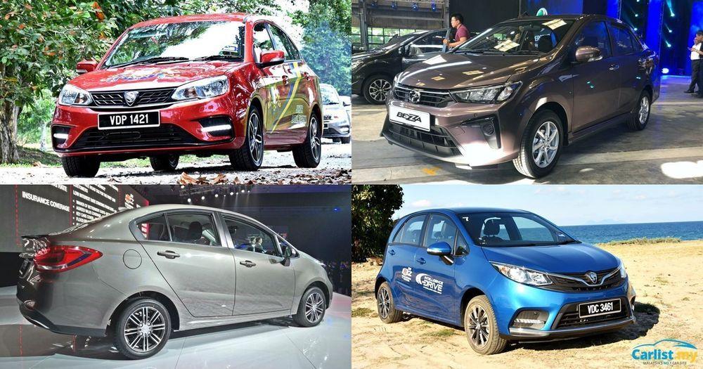 2020 MPV VS SUV - Proton Saga, Perodua Bezza