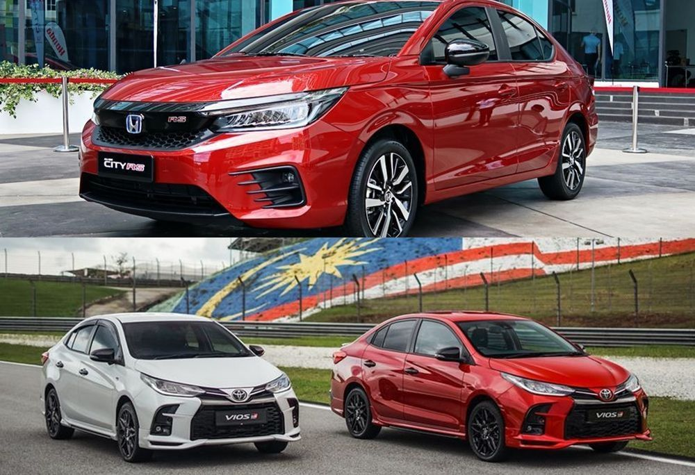 2021 Honda City and Toyota Vios