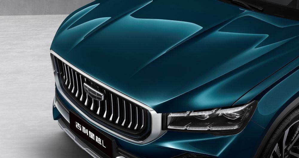 Geely,KX11,Xingyue L,2021,SUV,bonet,gril