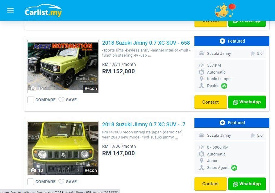 Suzuki Jimny Sale Malaysia