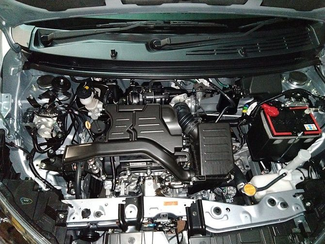 The Perodua Ativa Owes Its Heart To A Lineage Of Turbocharged Small Displacement Engines Axia Engine Bay