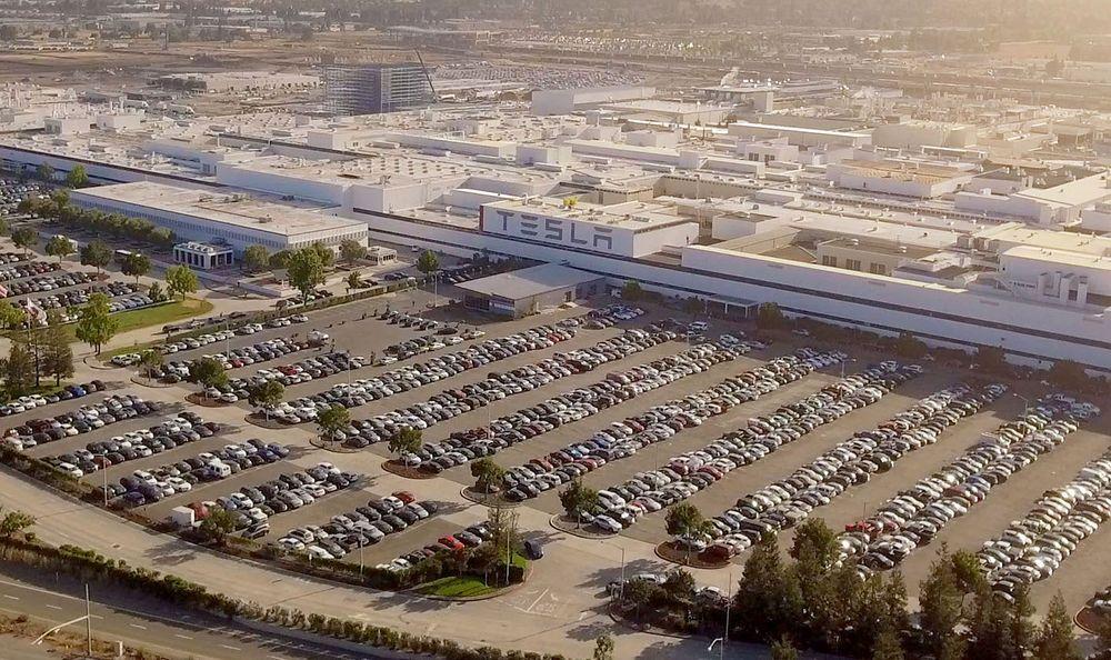 Tesla Factory - Fremont