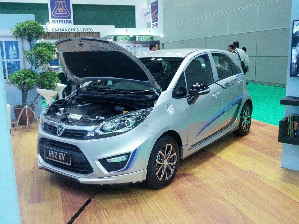 Proton Iriz EV Concept