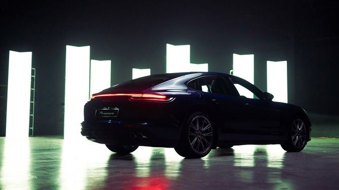 New Porsche Panamera Launched In Malaysia From RM 1026735 Rear Three Quarter