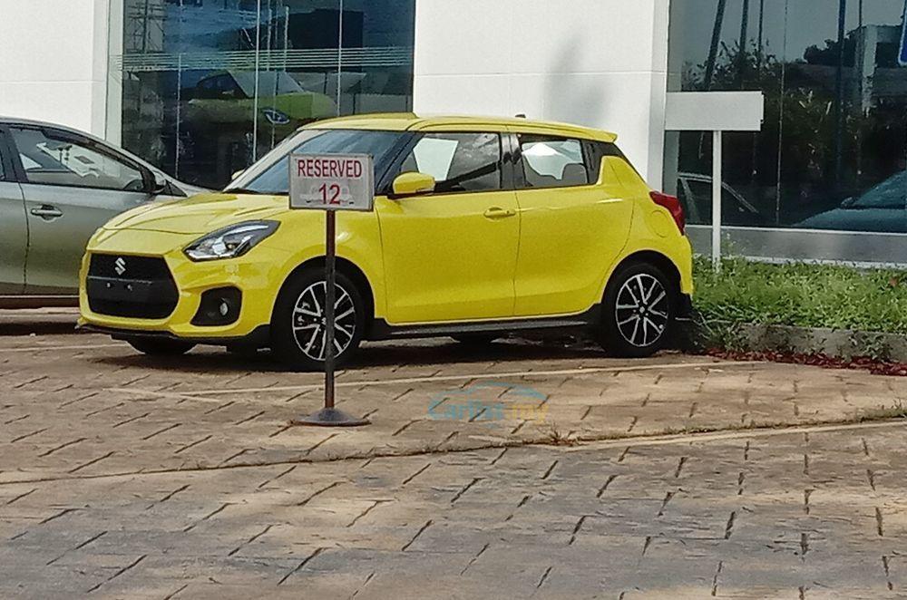 Suzuki Swift Sport 2021,Malaysia,spyshot