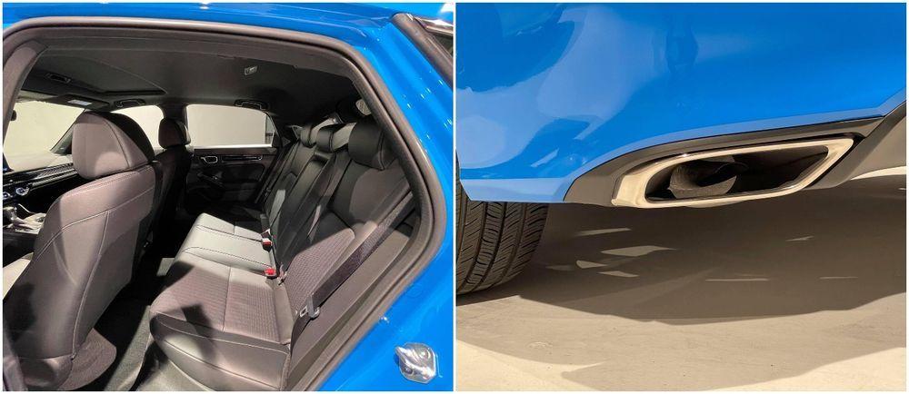 2022 Honda Civic hatchback leaked pictures
