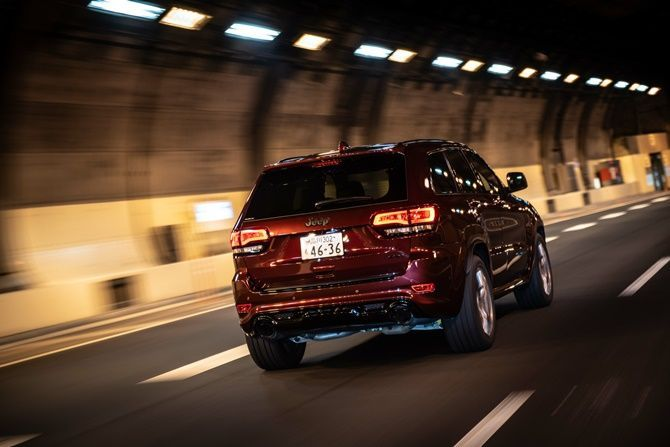 Jeep Malaysia Launches Grand Cherokee SRT And Trackhawk Rear View