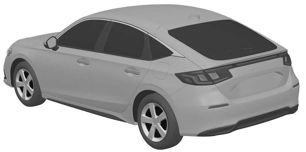 Honda Civic Hatchback patent
