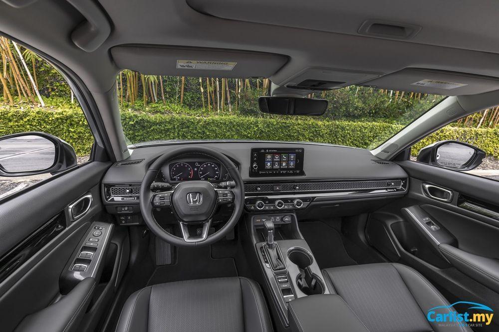 2022 All-New Honda Civic US Launch interior