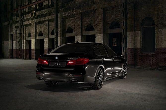 BMW 530i M Sport Dark Shadow Edition Rear