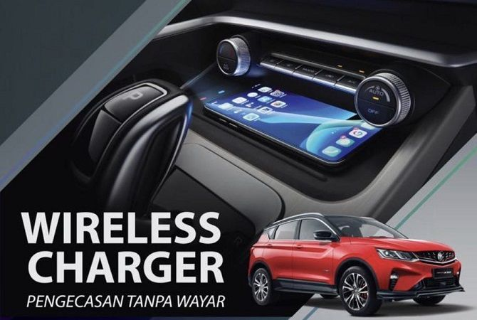 The Proton X50 Now Has A Wireless Charger Option Installed
