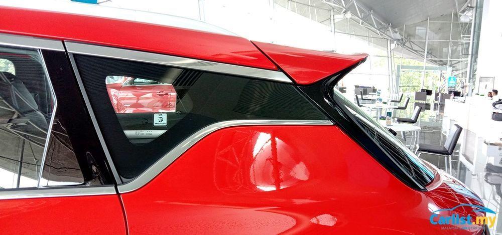 2020 Proton X50 Premium C-Pillar