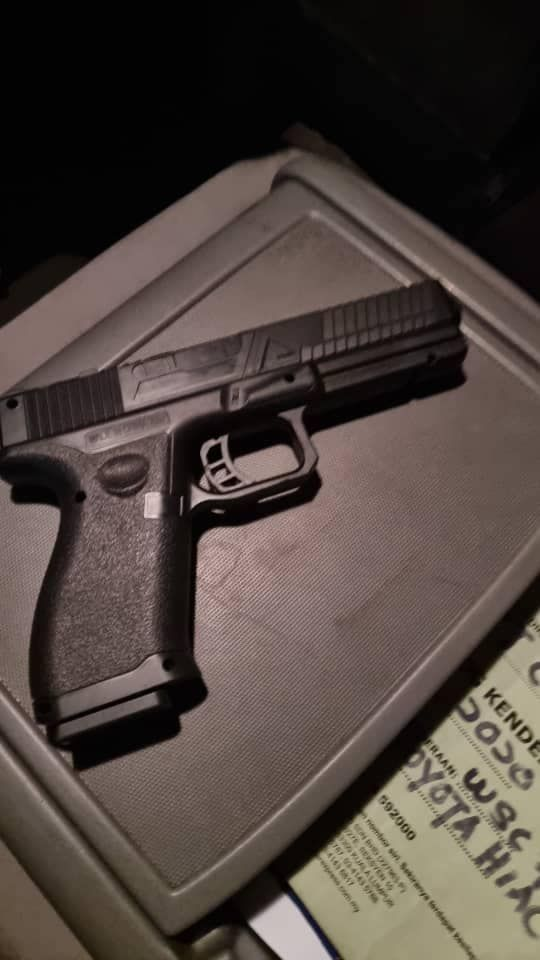 Toy gun used in road rage incident