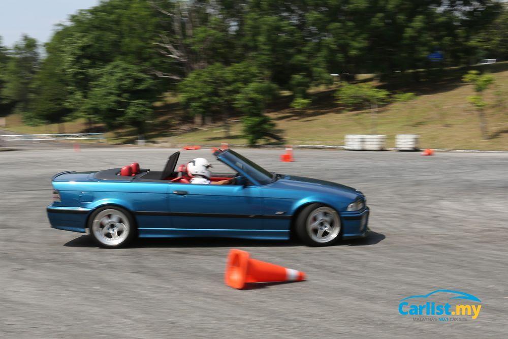 BMW E36 Carbriolet Gymkhana