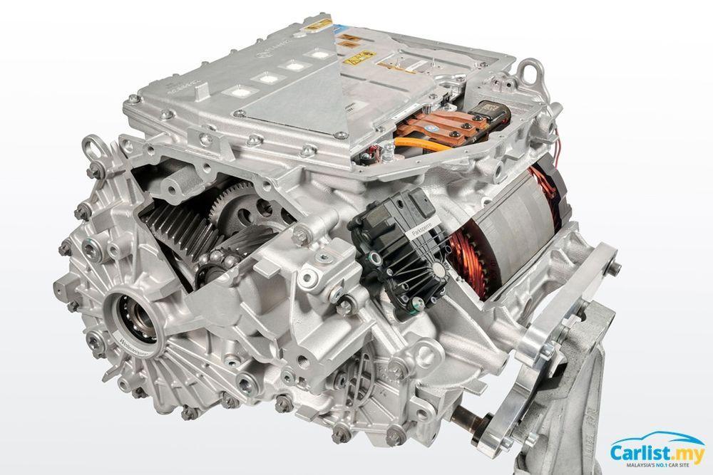 2021 BMW i4 M50 e-motor