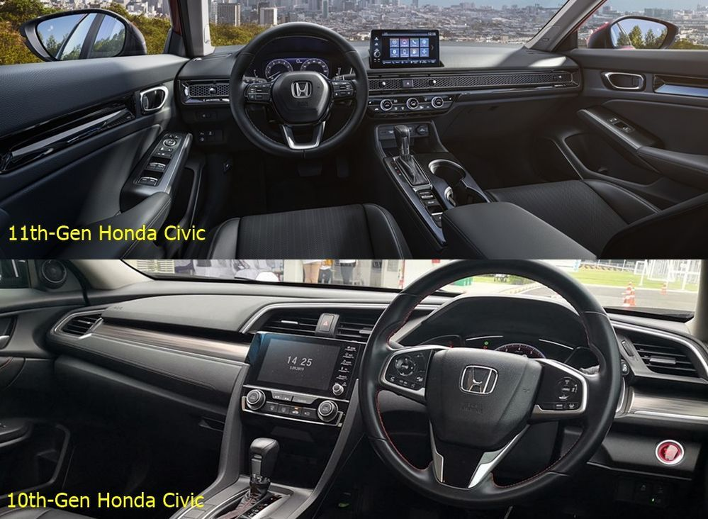 2022 All-New USDM Honda Civic Interior