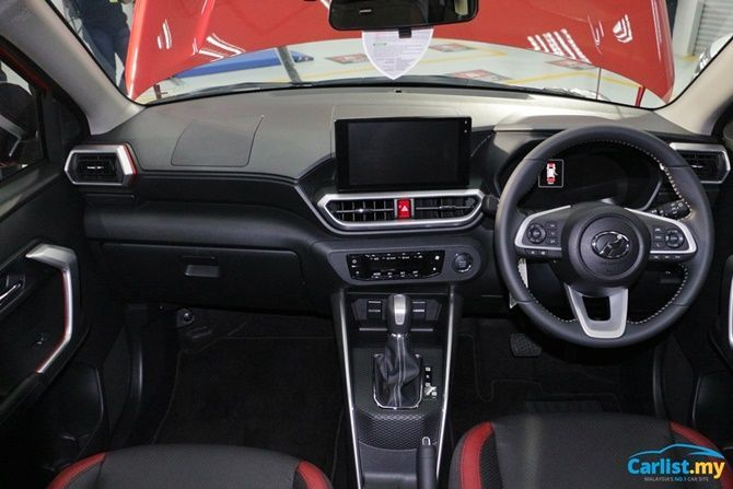 Perodua Ativa Available Immediately From Launch No Waiting 6 Months Dashboard