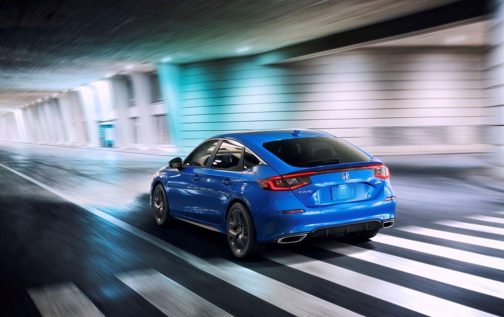 2022 Honda Civic Hatcback driving dynamics