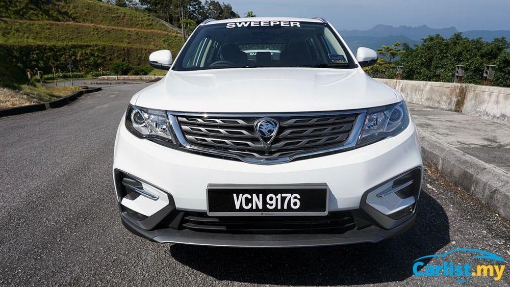 proton X70,SUV,Malaysia,Geely