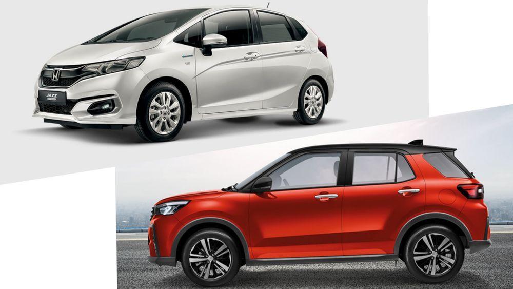 Honda Jazz VS Perodua Ativa