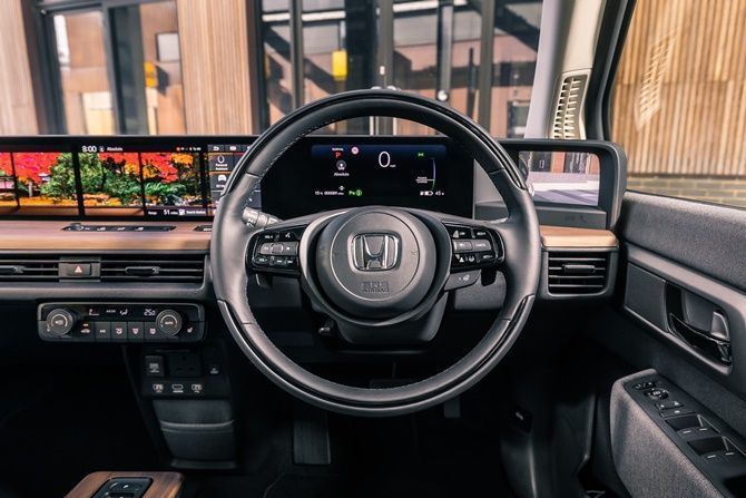 Singapore Is Actually Encouraging Electric Car Ownership Honda E Interior
