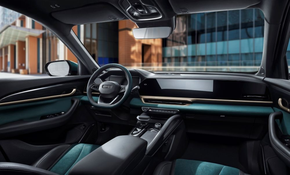 Geely,KX11,Xingyue L,2021,SUV,Interior