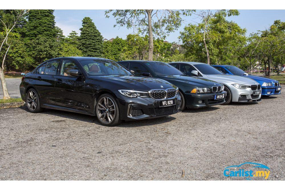BMW M340i Gymkhana