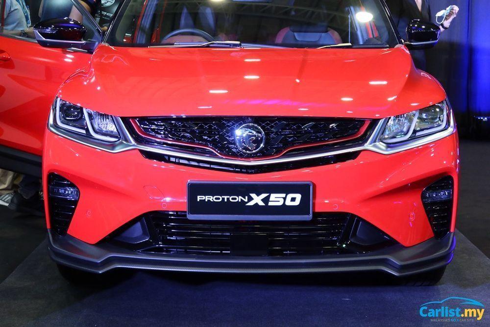 Proton X50, Malaysia, merah