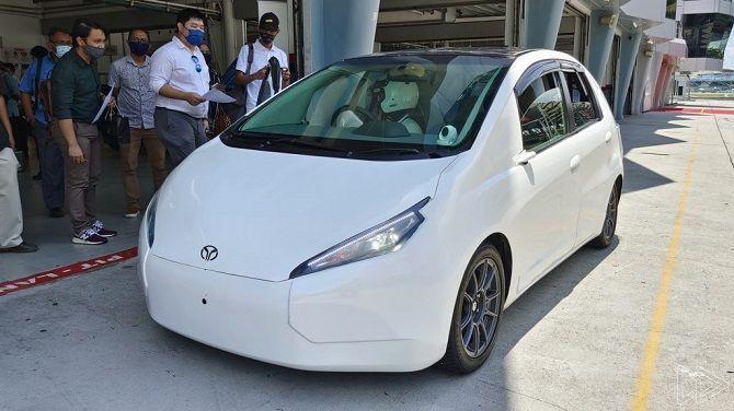 Is The MyKar Electric Vehicle Really Feasible Sepang Pitlane