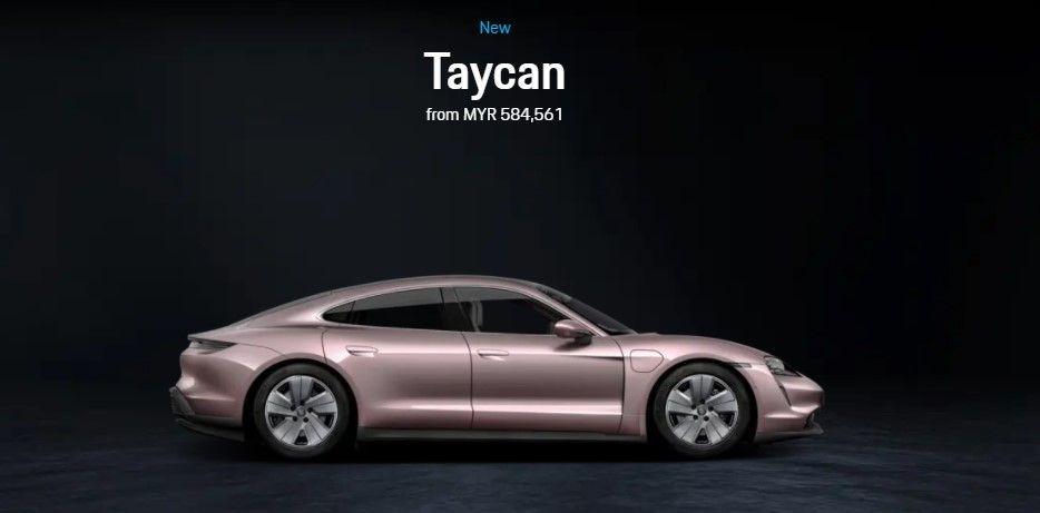 Porsche Taycan, Taycan