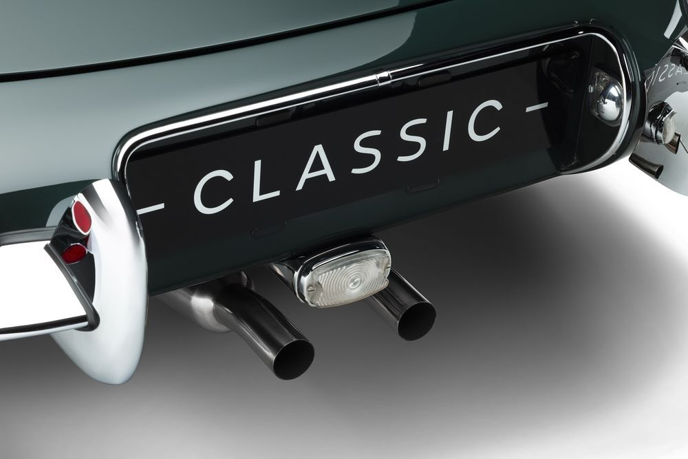 Jaguar E-type 60 Anniversary Roadster Coupe Stainless Steel Exhaust