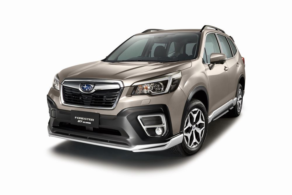 2021 Subaru Forester GT Lite Side View