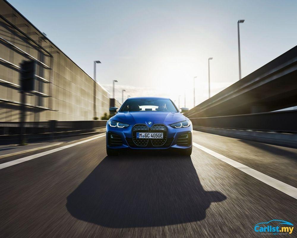 2021 BMW i4 M50 front