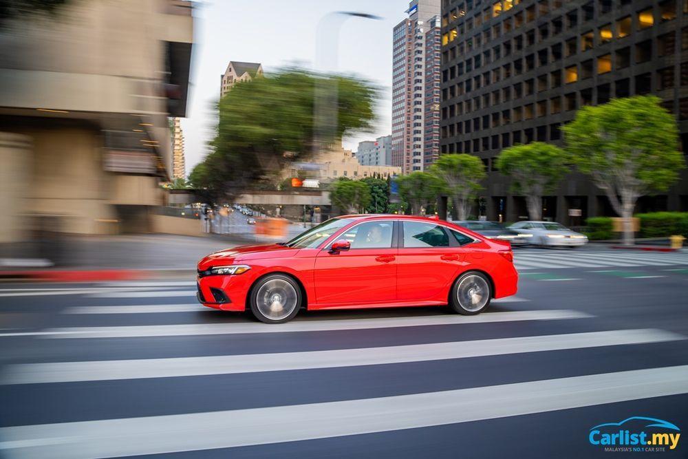 2022 All-New Honda Civic US Launch driving