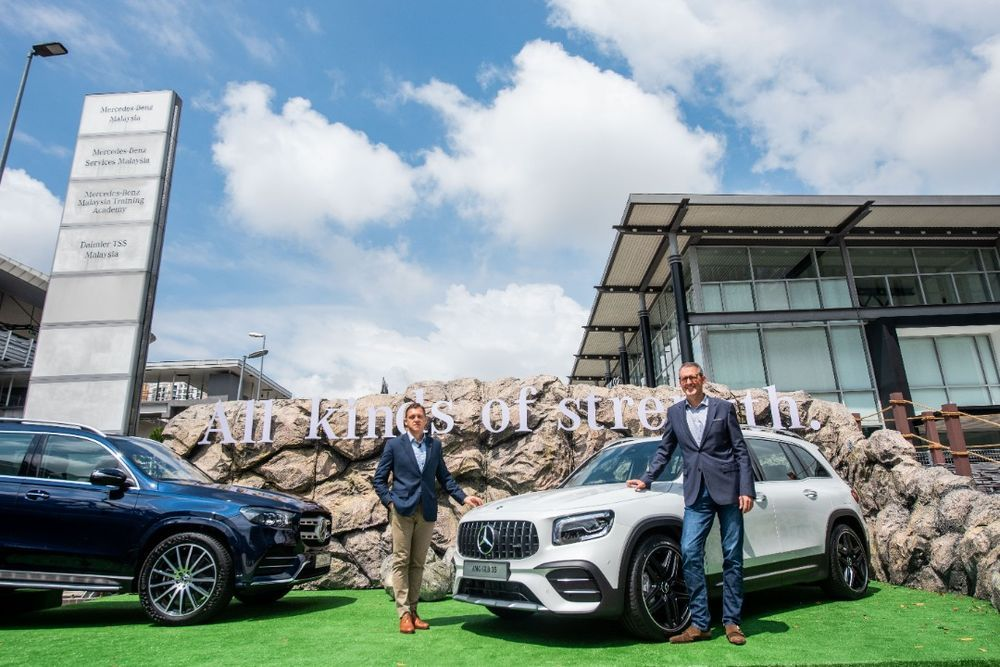 Dr Claus Weidner, President & CEO of Mercedes-Benz Malaysia and Michael Jopp, Vice President of Sales and Marketing at Mercedes-Benz Malaysia