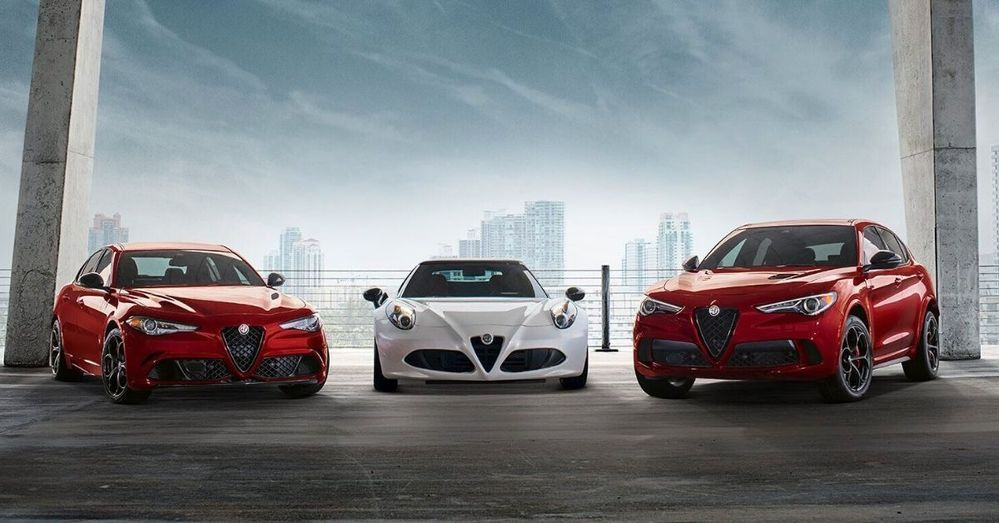 Alfa Romeo family of cars