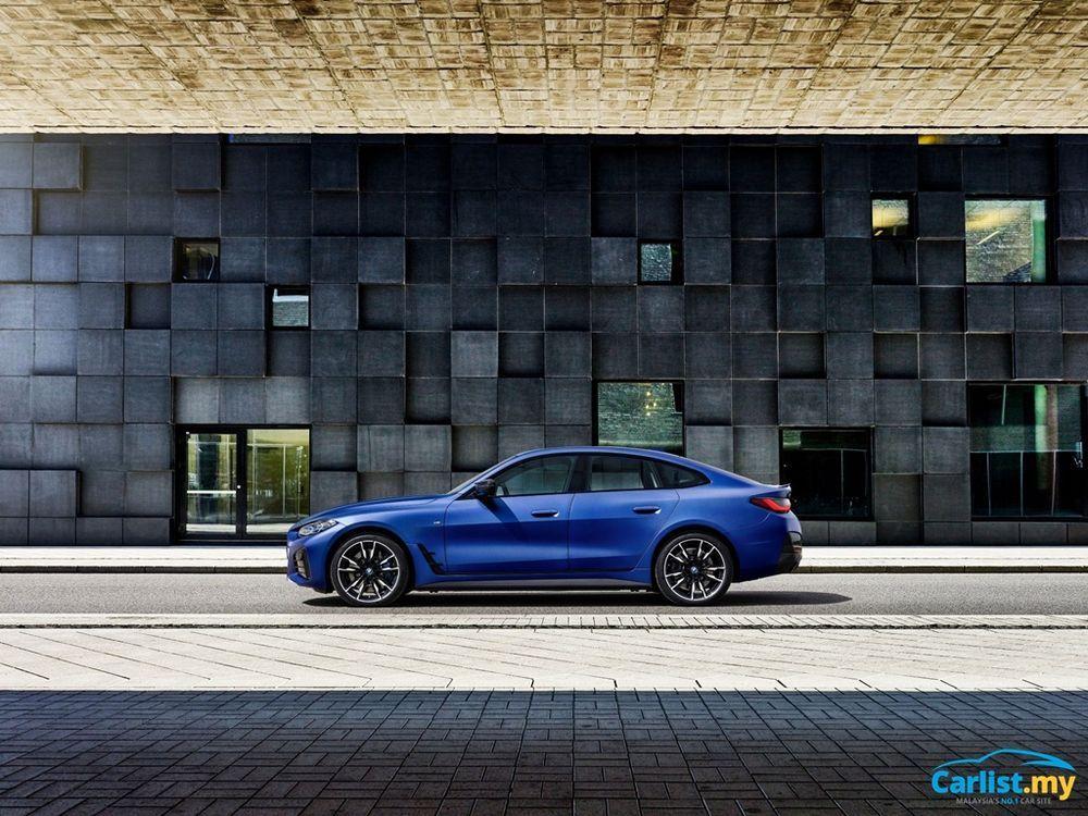 2021 BMW i4 M50 side