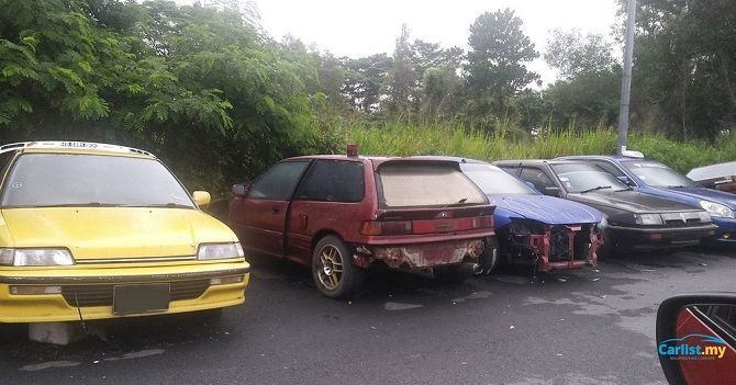 Department of Environment Makes Scrapping Abandoned Cars Easy Clean Abandoned Honda Cars
