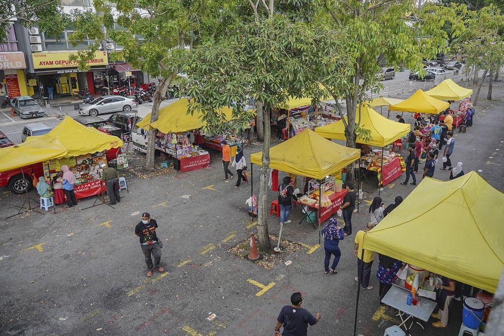 rentas negeri,PDRM,sekatan jalan raya,balik kampung,bazar ramadan