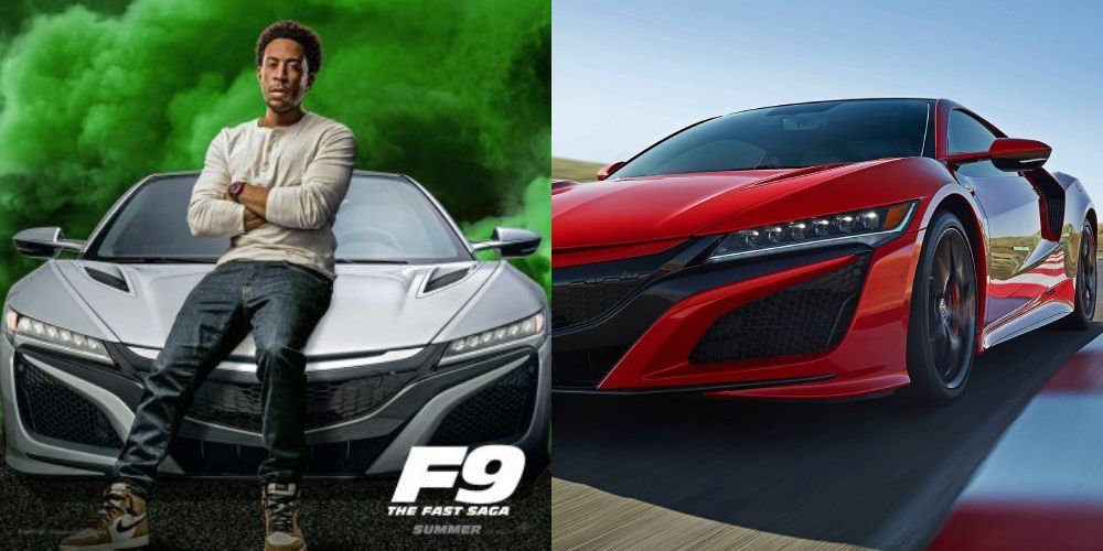 2018 Acura NSX,Fast and Furious 9