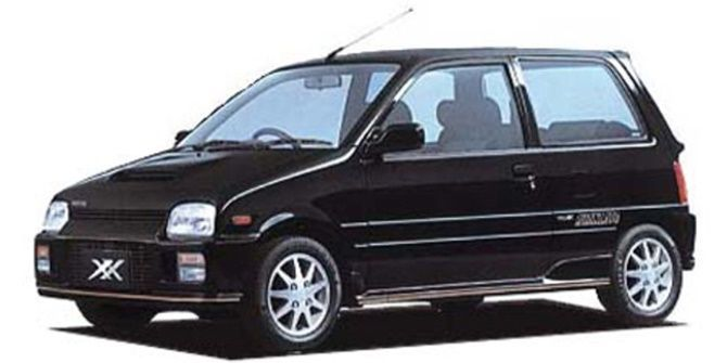 The Perodua Ativa Owes Its Heart To A Lineage Of Turbocharged Small Displacement Engines Mira TR-XX