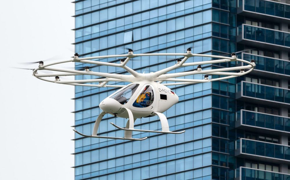 Volocopter 2X - Singapore Test Flight