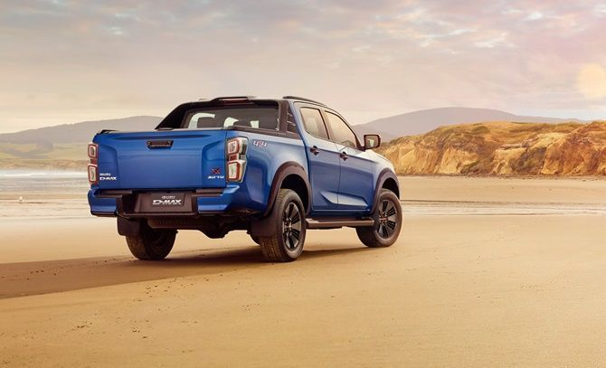 What You Need To Know About The All New 2021 Isuzu D MaxRear Three Quarter