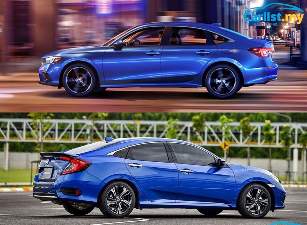 2022 All-New USDM Honda Civic side