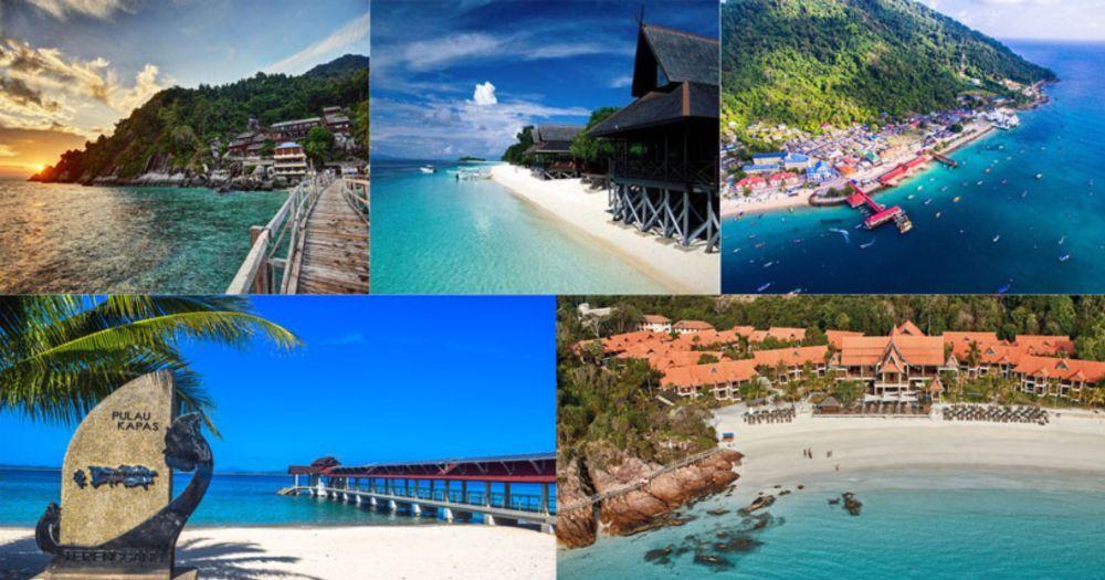 pulau kapas,pulau di malaysia