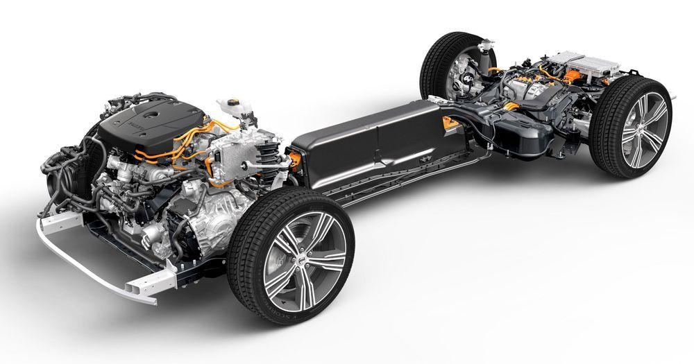 Volvo HV battery