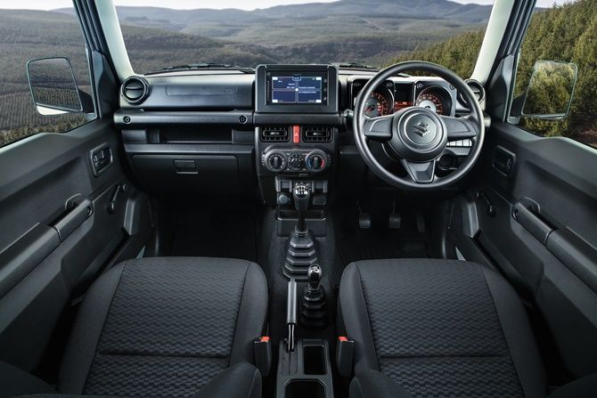 Five Reasons Why People Want The New Suzuki Jimny Right Now Interior