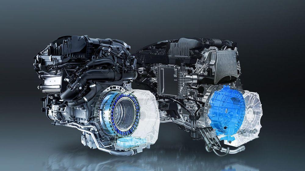 Mercedes 48-Volt Mild Hybrid
