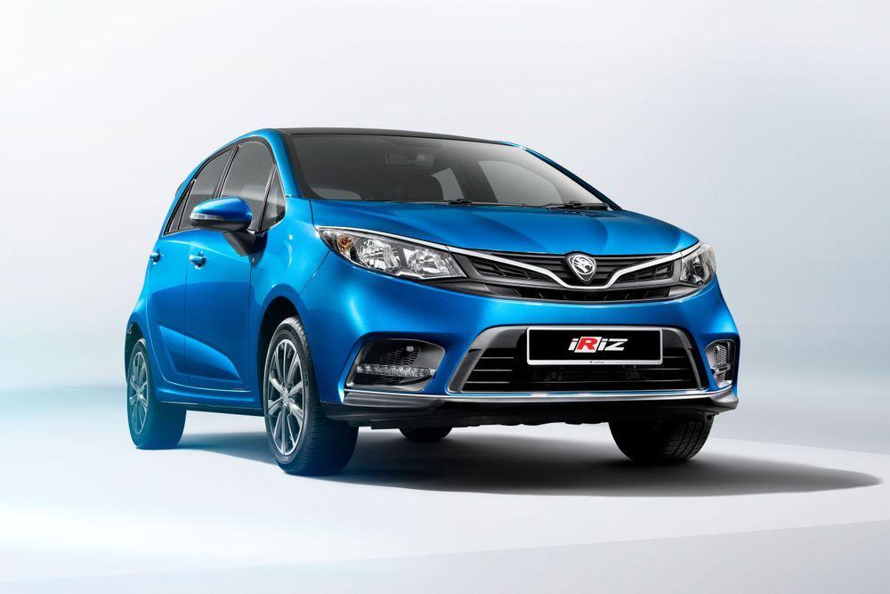 Reka bentuk depan Iriz telah ditambah baik setelah Proton memperkenalkan versi Facelift.