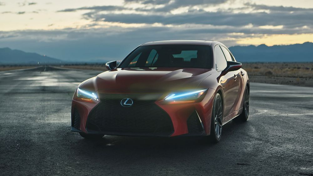 2021 Lexus IS 500 F Sport Performance